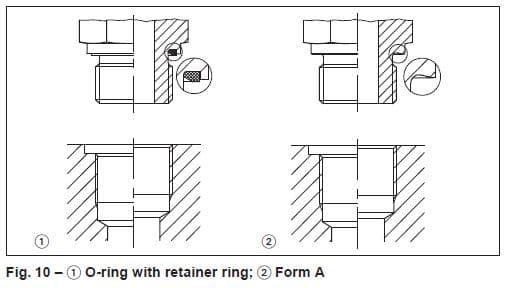 o-ring ข้อต่อไฮดรอลิค